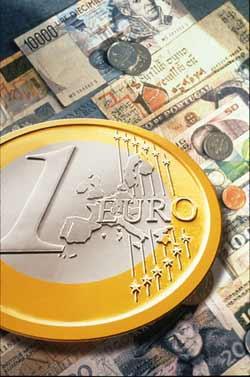 L'euro est le nom de la nouvelle monnaie européenne.