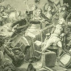 L'arrestation de Robespierre le 9 thermidor (27 juillet 1794)