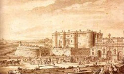 Le château de la Bastille
