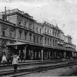 L'ancienne gare ferroviaire