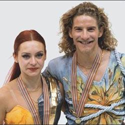 Marina Anissina et Gwendal Peizerat