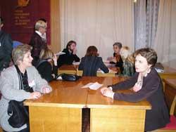 Au cours des tables rondes avec les opérateurs de la coopération française