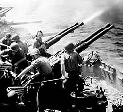 Les Américains dans le Pacifique, 1945