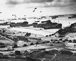 Le débarquement en Normandie, 1944