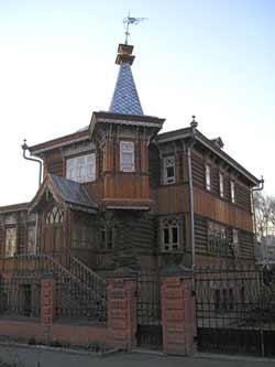 Barnaoul : quartier ancien