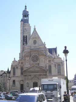 Eglise Saint-Etienne du Mont du XVe s. (Paris)