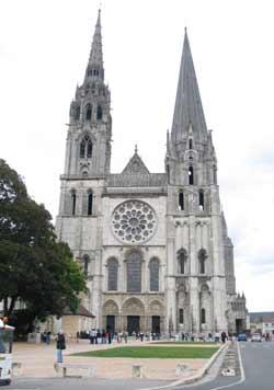 Notre-Dame de Chartres, cathédrale du XIIIe s. (Chartres)