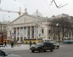 Le théâtre de l'opéra