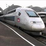 Le train français