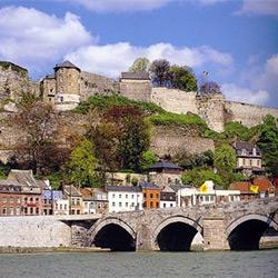 W comme Wallonie. Namur.
