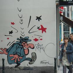 La bande dessinée de Bruxelles