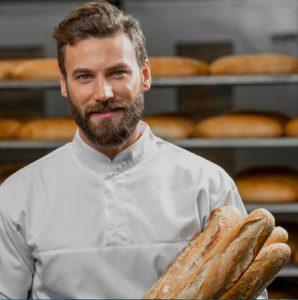 Le boulanger et la baguette